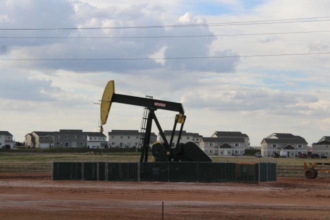 Bakken Oil Well (Photo by Ian Grande)