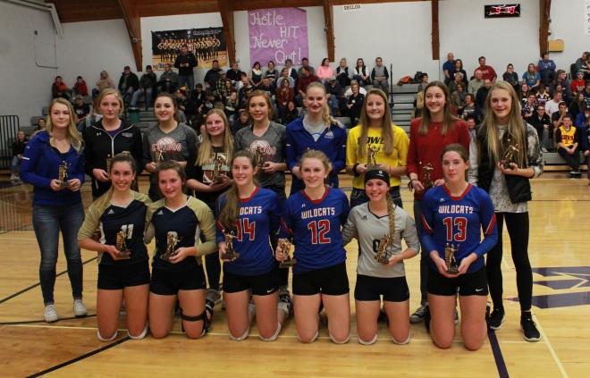 North Dakota All-Region 5 Volleyball Team - (Photo by Ian Grande)