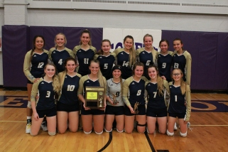 Shiloh Christian Volleyball (Photo by Ian Grande)